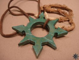 Chaos Star Necklace by SK-OC
