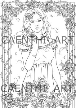 Coloring page by thielusia