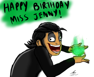 Happy Birthday Miss Jenny ! by nurmuzdalifah