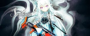 Chaika Black and White by SoulgainAlpha