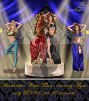 Bellydance-gala in Cape Town, starring Ayse by MagnaAngel