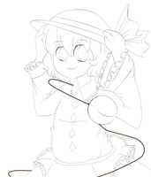 .:Free Koishi Lineart:. by lemon-sugars