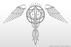 Caduceus Tattoo by Obsolution