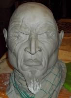 WIP Kratos God Of War Bust 1 by Tikay77