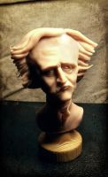 Edgar Allan Poe - Bust by Thomacek
