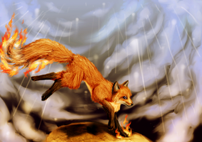 96. In the storm by RayCrystal