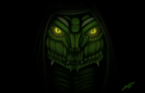 Law the reptile by Law67