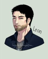 Commission: Leon by lazendar