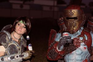 Locust - Gears of War cosplay by cimmerianwillow