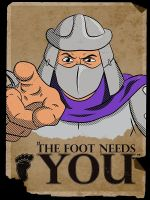 The Foot Needs You by ToastMonsters