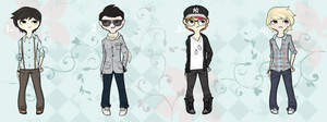 Urban Fashion Adopts [Males] [AUCTION]  (CLOSED) by Xecax