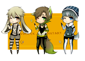 Adoptables Auction 01 [C L O S E D] by Medopts