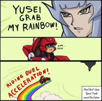 GRAB MY... RAINBOW? by Shinsen-san