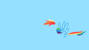 Rainbow Dash wallpaper by jurdaNitram