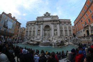 Trevi fountain by AuroraxCore