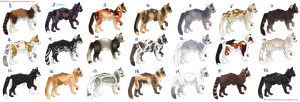 22 cat adopts by DancingfoxesLF