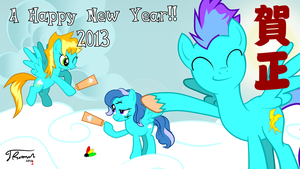 Happy New 2013!! by dnewt