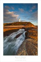 Norah Head Lighthouse Dawn by MattLauder