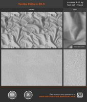 Textile Pattern 20.0 by Sed-rah-Stock