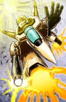 Scribble #7: Robotech: Valkyrie Drop by jep0y