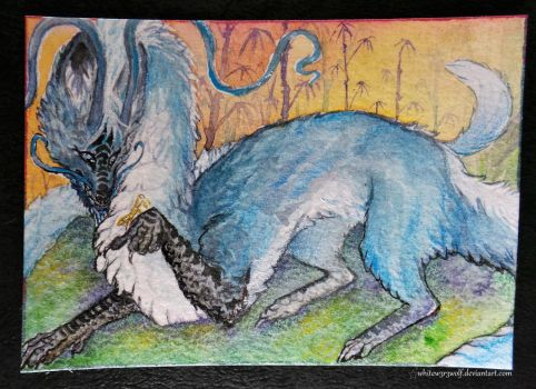 ACEO: Eloren by whitew3r3wolf