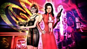 Trouble-Shooting Space Divas by Skllhrt