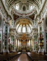 Jesuit Church in Mannheim by pingallery