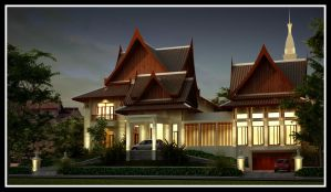 Thai Modern by r3ynard