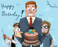 Happy Birthday, Dan! 1/2 by Leibi97