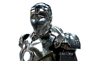 Chrome Ironman by zahuli