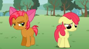 New and Improved Apple Bloom by TheMasterofDespair