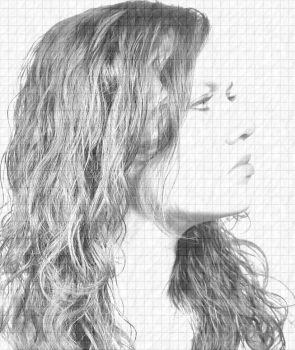 Pencil Drawing effect 1 By ShadowTutorials by zarodas