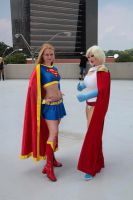 Supergirl and Powergirl by AlisaKiss