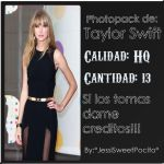 Photopack de Taylor Swift by JessiMostacho