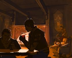 After Hours at Skyhold by Kenu