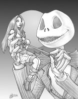 Jack and Sally by steveoreno