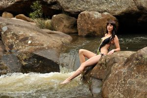 Louise - at the rapids 3 by wildplaces