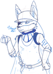 Martin reaction image #1 (Unfinished) by CougarLeon2