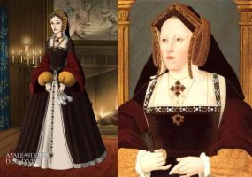 Catherine of Aragon by LadyAquanine73551