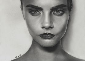 Cara Delevingne by Charlzton