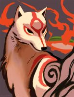 Okami by OrcaOwl