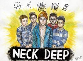 Neck Deep by Kagoe