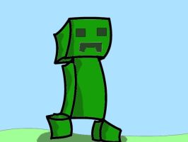 a wild creeper appered by ButlerMLP