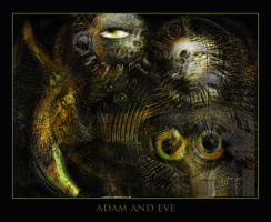Adam and Eve by x-pyre12