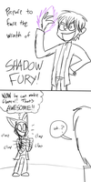 GK meets Shadow Fury by Catmaniac8x