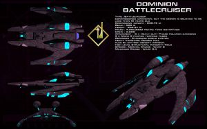 Dominion Battlecruiser ortho by unusualsuspex