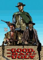 The Good, The Bad and the Ugly by MalevolentNate