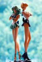 1:8 Sailor Uranus and Neptune by Cheeru