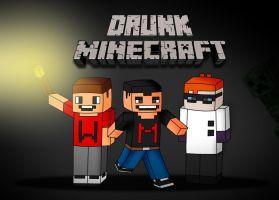Drunk Minecraft- Markiplier Fan Art by FeatherLetters