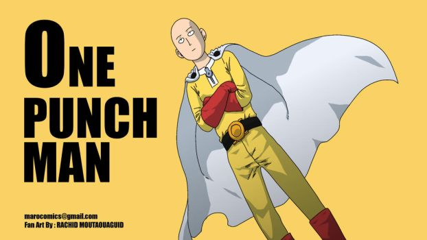 One punch-man by moutaouaguid